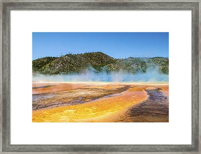 Grand Prismatic Spring - Yellowstone National Park Framed Print by Brian Harig