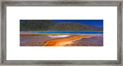 Grand Prismatic Spring, Yellowstone Framed Print by Panoramic Images
