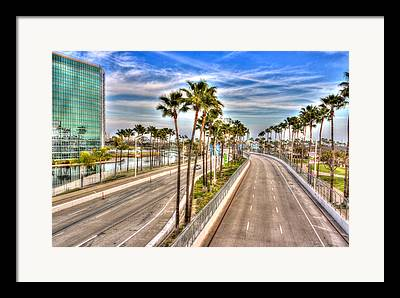 Long Beach Grand Prix Framed Prints