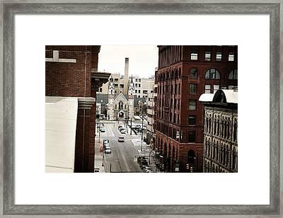 Grand Rapids 10 Framed Print by Scott Hovind