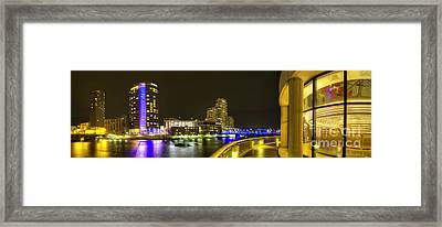 Grand Rapids From Ford Museum Framed Print