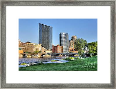 Grand Rapids Mi100 Art Prize Framed Print by Robert Pearson