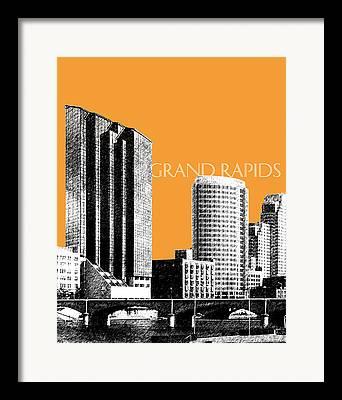 Waterfront Digital Art Framed Prints