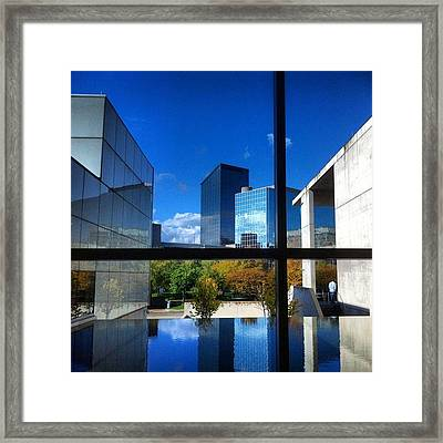 Framed Print featuring the photograph Grand Rapids Museum Of Art by Toni Martsoukos