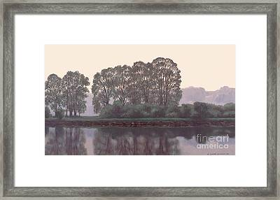 Grand River Sentinels Framed Print by Michael Swanson