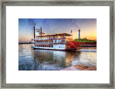 Grand Romance Riverboat Framed Print by Heidi Smith