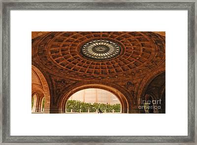 Grand Rotunda Pennsylvanian Pittsburgh Framed Print