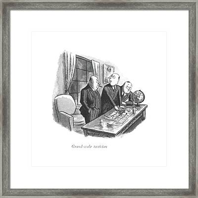 Grand-scale Tactician Framed Print by William Steig