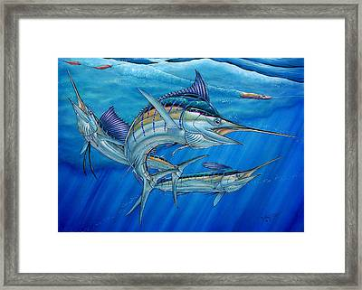 Grand Slam And Lure. Framed Print