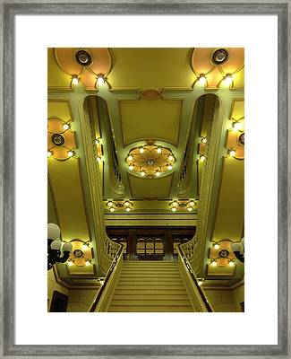 Grand Stairs Framed Print by Photolope Images