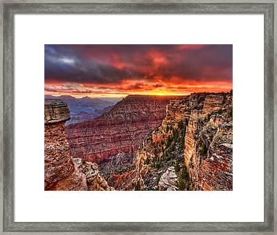 Grand Sunrise Framed Print