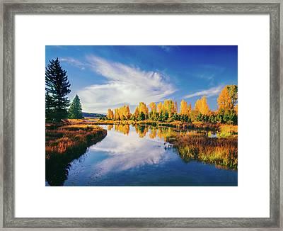 Grand Teton National Park, Wy Framed Print by Ron thomas