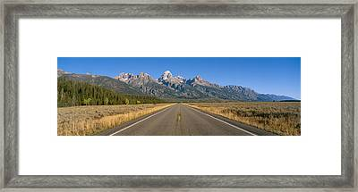 Grand Teton National Park, Wyoming Framed Print by Panoramic Images