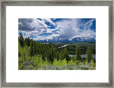 Grand Teton Np Framed Print
