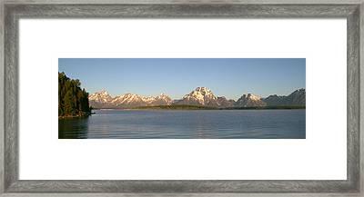 Grand Teton Sunrise Framed Print by Brian Harig