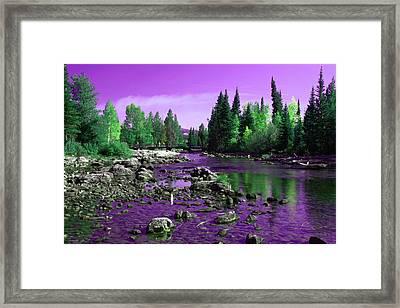 Grand Tetons National Park  Framed Print by Aidan Moran