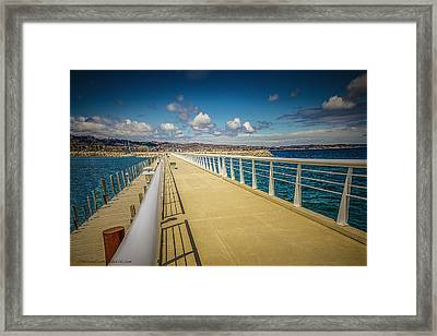 Grand Traverse Bay Framed Print
