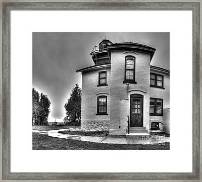 Grand Traverse Lighthouse Framed Print by Twenty Two North Photography