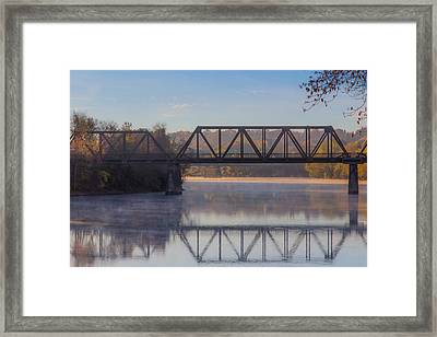 Grand Trunk Railroad Bridge Framed Print