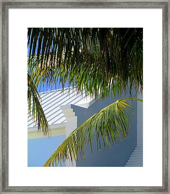 Grand Turk Architecture Framed Print by Randall Weidner