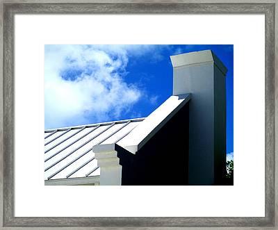 Grand Turk Building Framed Print by Randall Weidner