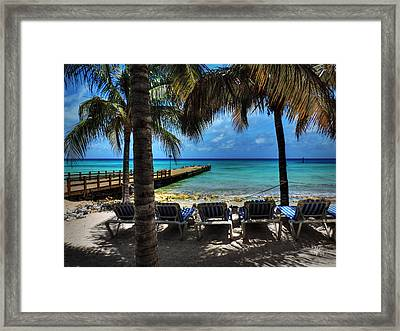 Grand Turk Vacation 001 Framed Print by Lance Vaughn