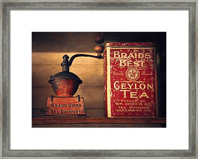 Grand Union Tea Company Framed Print by Maria Angelica Maira
