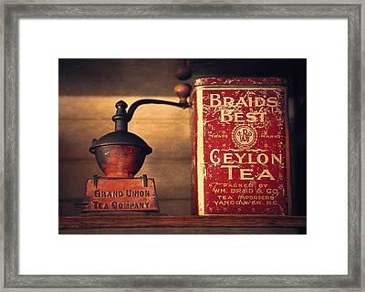 Grand Union Tea Company Framed Print