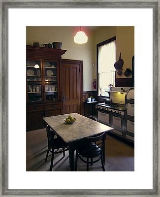 Grand Victorian Kitchen Framed Print by Daniel Hagerman