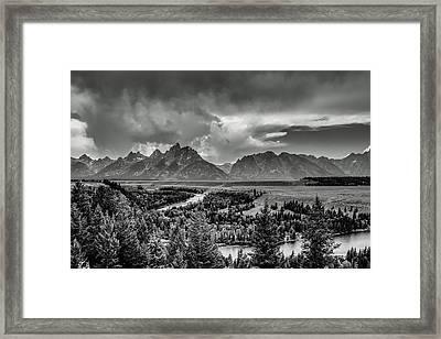 Grand View Framed Print