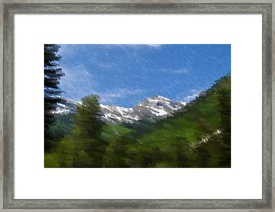 Grand View Framed Print by Kevin Bone