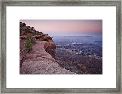 Grand View Point At Canyonlands Framed Print