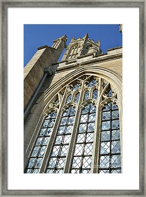 Grand Window Framed Print