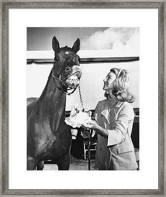 Grand Wizard Horse Racing Vintage Framed Print by Retro Images Archive