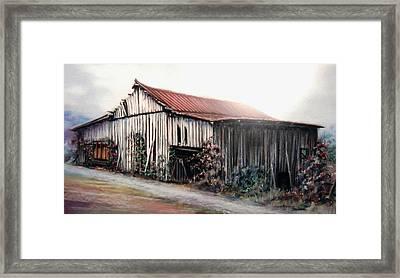 Grandaddy's Barn Framed Print