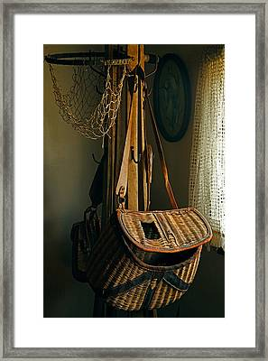 Grandad's Fishing Gear Framed Print
