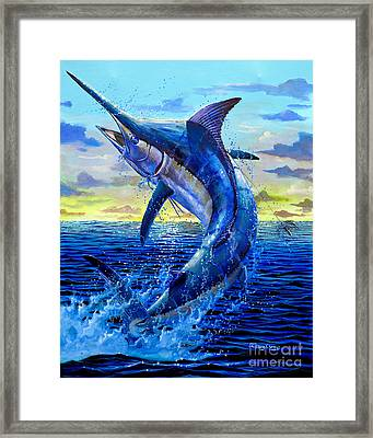 Grander Off007 Framed Print by Carey Chen