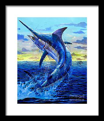 Swordfish Framed Prints