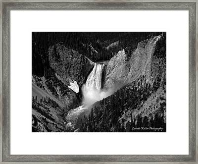Framed Print featuring the photograph Grandeur by Lucinda Walter