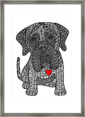 Grandeur - Mastiff Framed Print