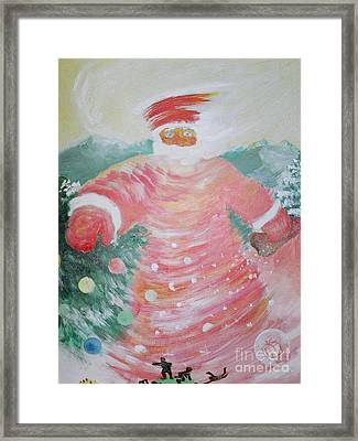 Grandfather Frost Framed Print