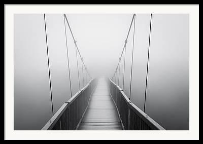 Thick Fog Framed Prints