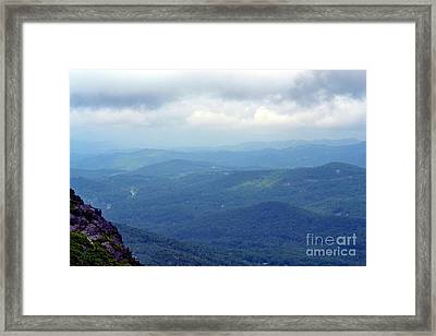 Grandfather Mountain Linville Nc Framed Print