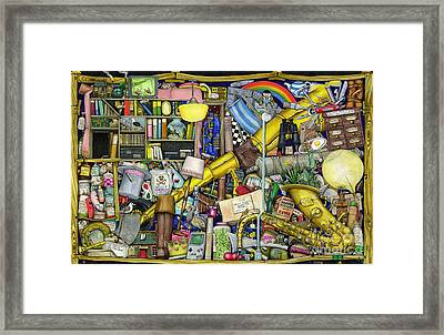 Grandfather's Chest Framed Print by Colin Thompson