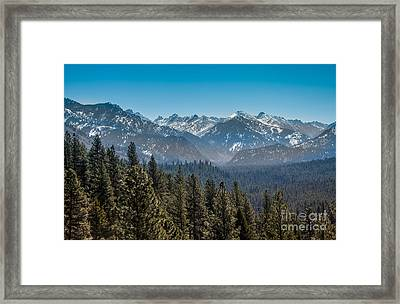 Grandjean Valley Framed Print