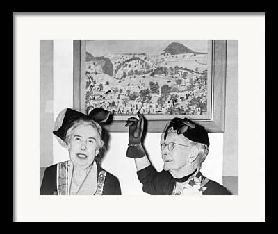 Grandma Moses Framed Prints