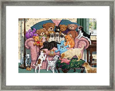Grandma's Armchair Framed Print by Steve Read