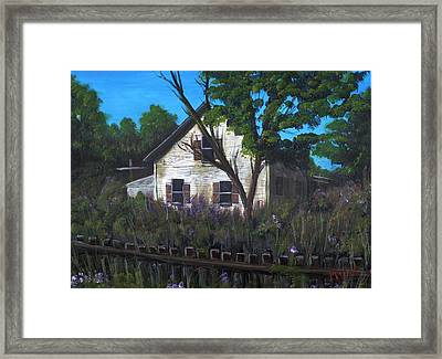 Grandma's House Framed Print
