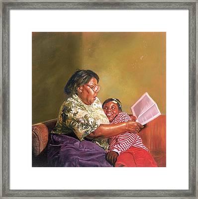 Grandmas Love Framed Print
