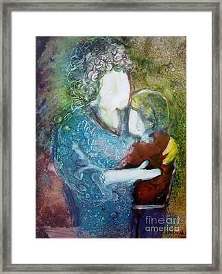 Grandma's Love Framed Print